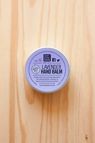 Our Tiny Bees Lavender Hand Balm