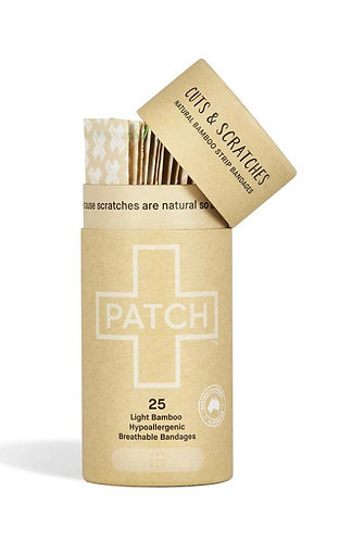 PATCH Biodegradable Plasters - Natural