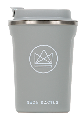Neon Kactus - Insulated Stainless Steel Coffee Cup