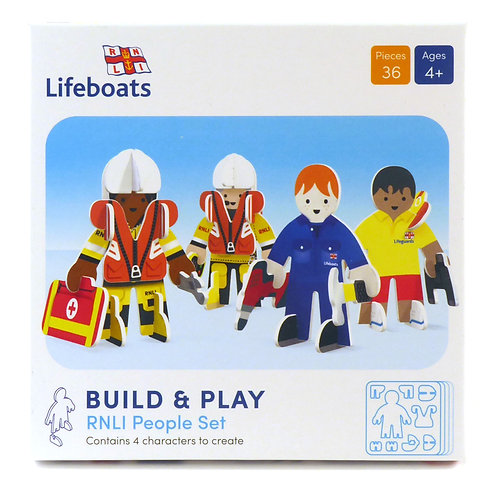 Playpress Toys - RNLI Character Pack