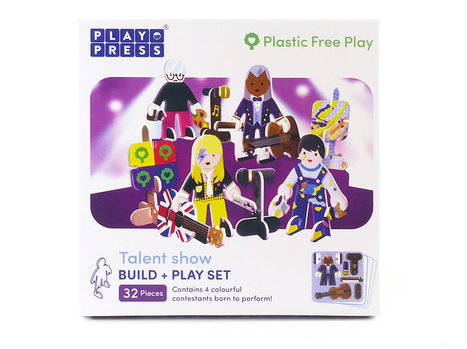Playpress Toys - Talent Show Character Pack