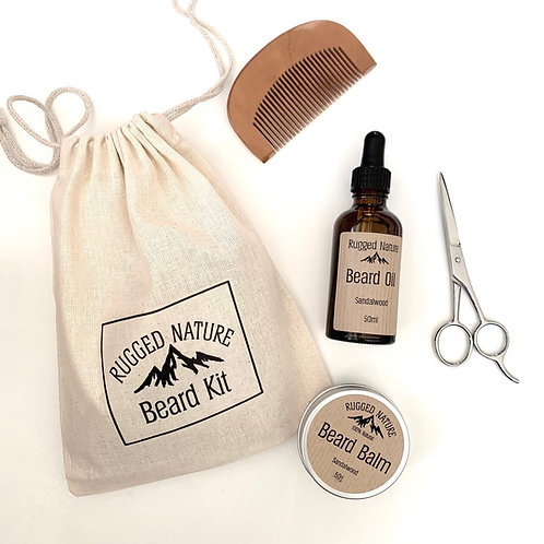 Rugged Nature Beard Kit