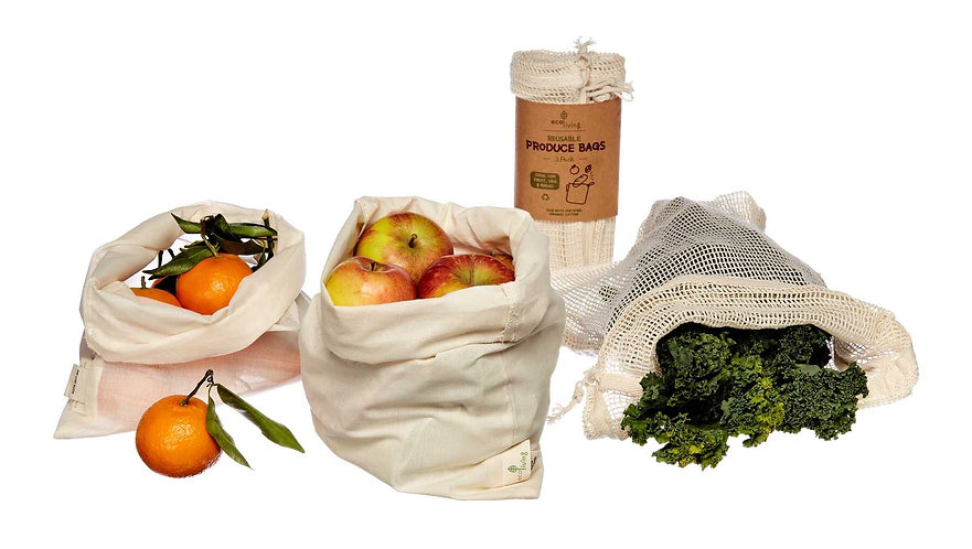 3 Pack Produce Bags