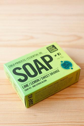 Our Tiny Bees Soap - Lime/Lemon/Sweet Orange