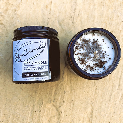 UpCircle Soy Candle - Coffee Grounds
