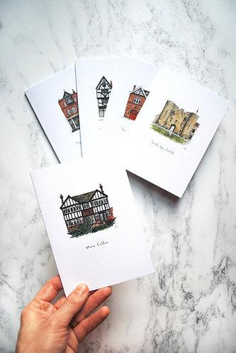 Tonbridge Cards 5 Pack