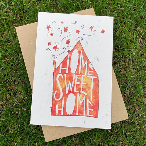 Plantable Card - Home Sweet Home
