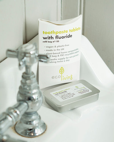 Toothpaste Tablets with Flouride