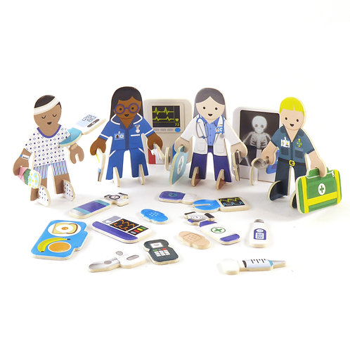 Playpress Toy - Check up Time Character Pack