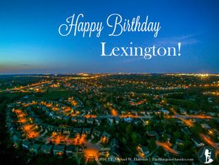 Happy Birthday Lexington!