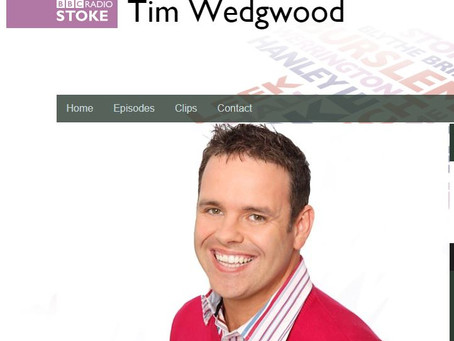 BBC Stoke's Tim Wedgwood makes award shortlist for Sanctus visit