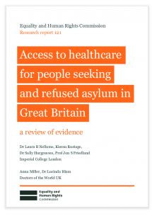Equality and Human Rights Commission publishes research on healthcare for asylum seekers