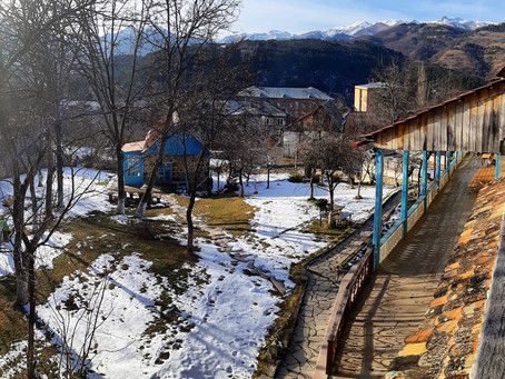 A family-run guesthouse in the Dilijan National Park