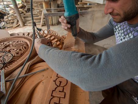 Хачкары: мастер с золотыми руками возрождает древнее армянское искусство – фотолента