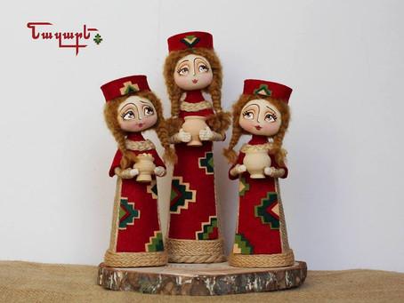 «Նազարե» հրեշտակ տիկնիկները