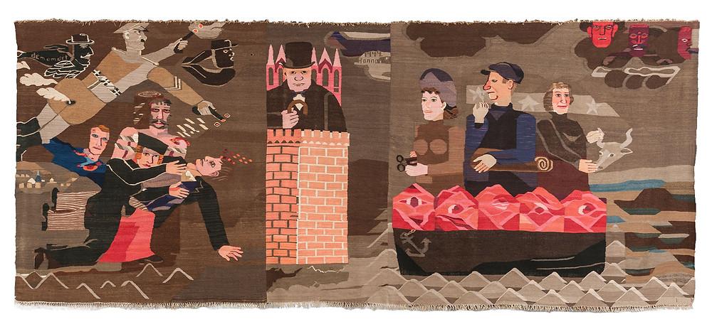 Hrag Vartanian Why Craft Matters Hannah Ryggen Tapestry