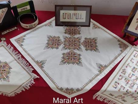 Սիրիահայ ասեղնագործուհի Մարալ Շէօհմէլեան Պէրպէրեան