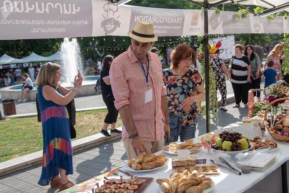 Организатор фестиваля еды Утест Фест Геворг Орбелян