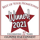 best of logo WINNER 2021 WINDOW CLING 4x