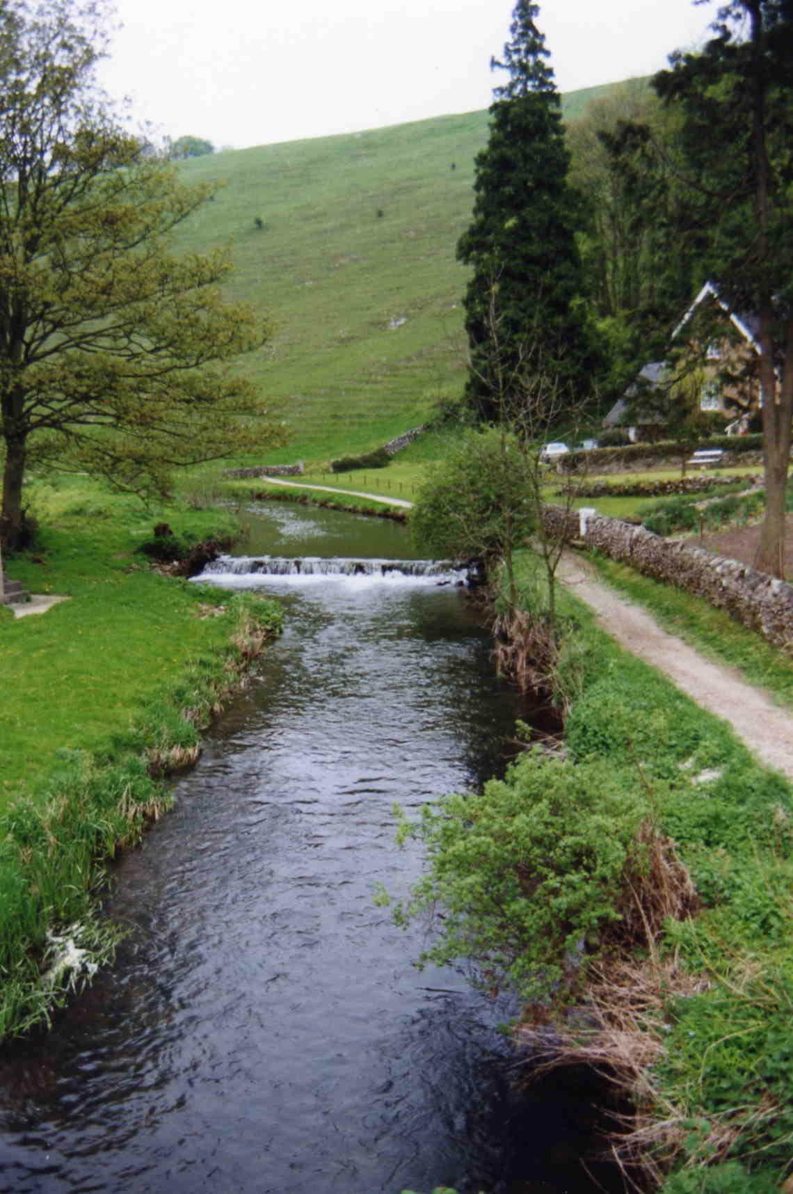 Upstream to Dove Cottage
