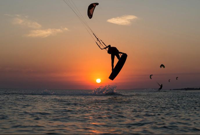 Kitesurf en Isla Mauricio