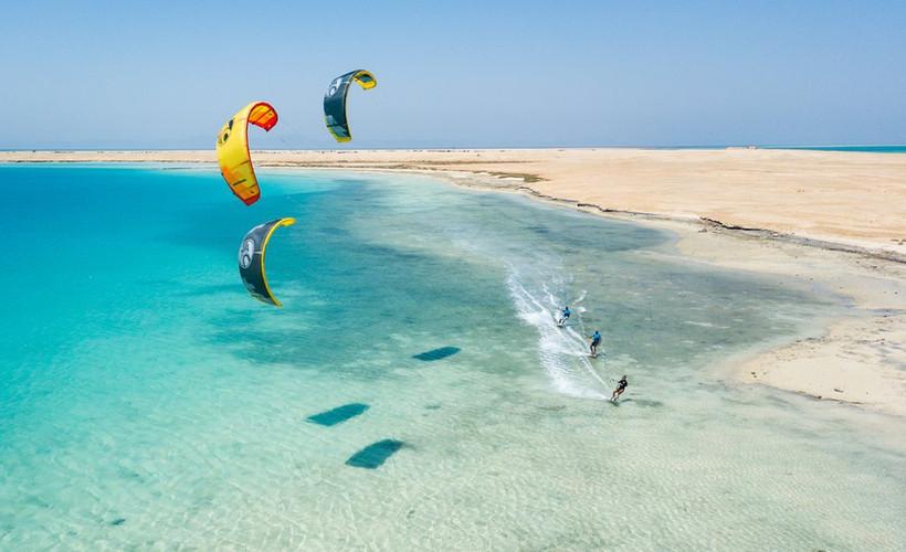 El Gouna kitesurfing