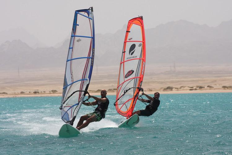 Windsurf en Soma Bay