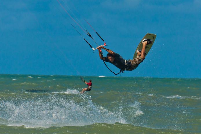 Kitesurf en Cumbuco, Brasil