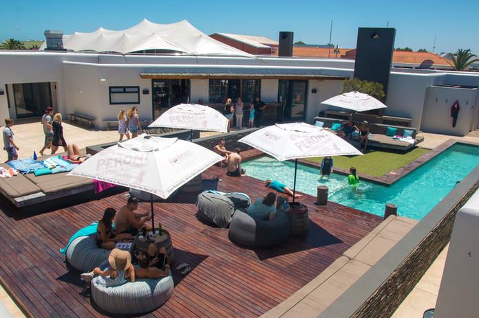 Terracita con piscina