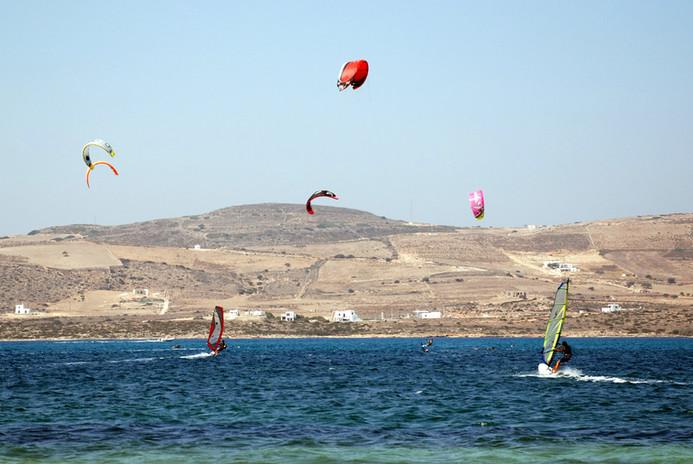 Kitesurf en Paros