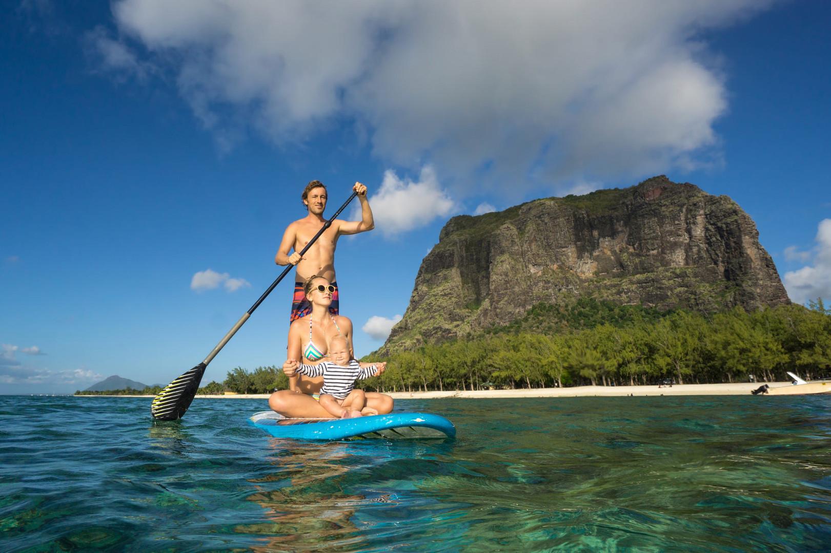 Paddle Surf en Isla Mauricio