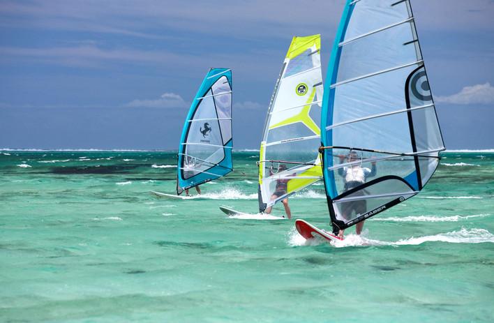 Windsurf en Isla Mauricio