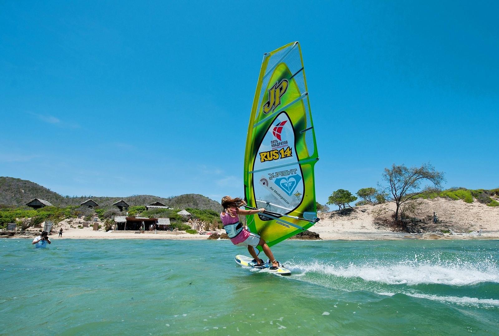 Windsurf en Madagascar