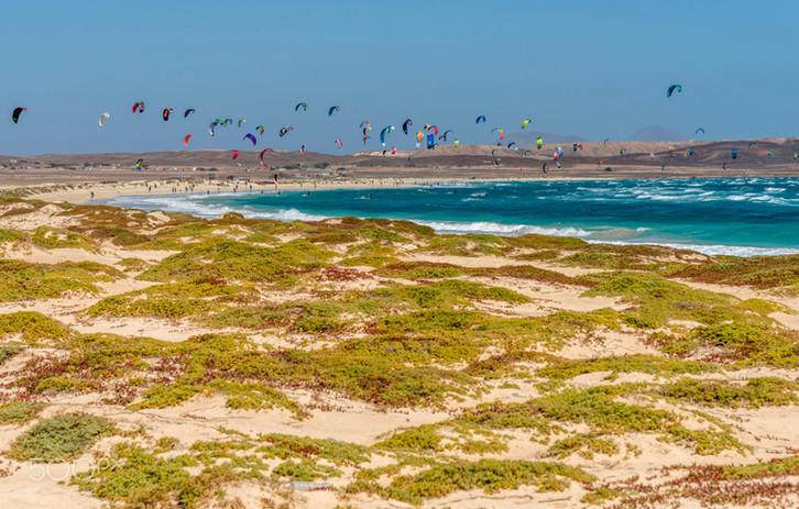 Kite Beach, Isla de Sal, Cabo Verde