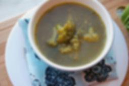 зелёный суп, рецепт здорового питания