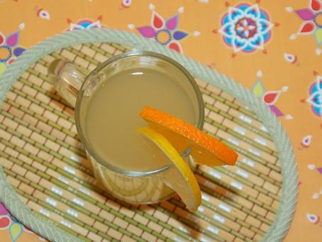 Лечебный имбирный чай