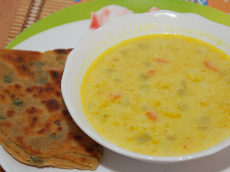 Нежный овощной суп