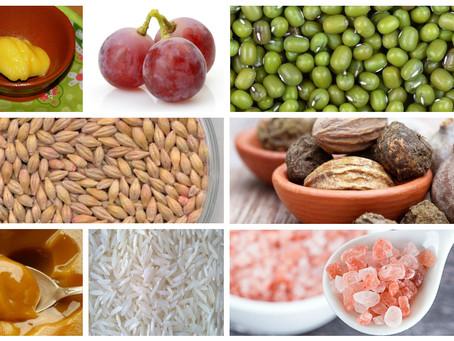 Продукты для регулярного употребления - рекомендации Аюрведы