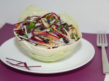 Капустный салат с позитивом