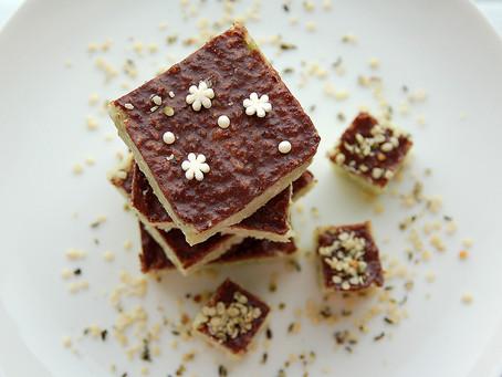 Десерт для весны без сахара и муки