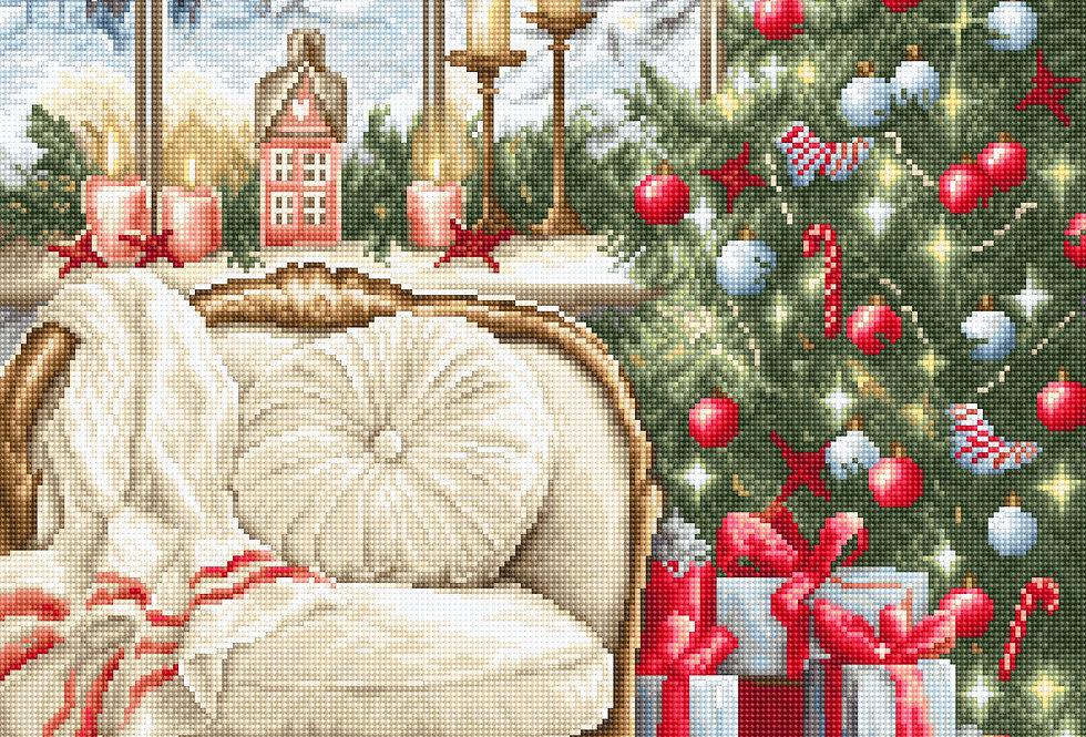 B599 Christmas interior design - Cross Stitch Kit Luca-S