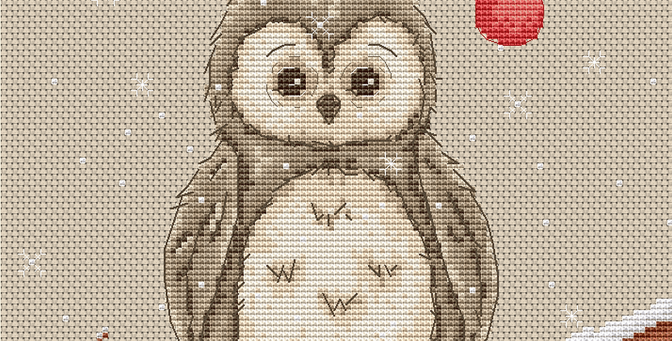 1046 Owl - Cross Stitch Pattern