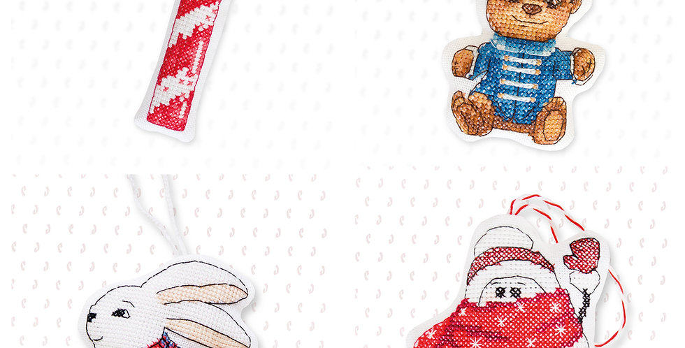 6 Toys of your Choice | Cross Stitch