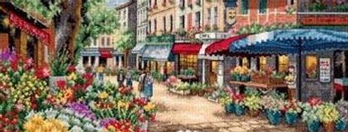 Paris Market   Counted Cross Stitch   DIMENSIONS