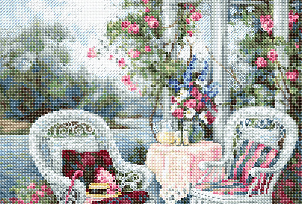 B2378 Victorian Memories - Cross Stitch Kit Luca-S