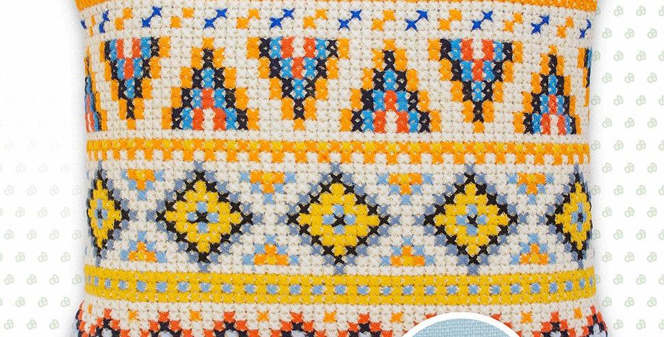 PB168 Pillowcase   Cross Stitch Kit