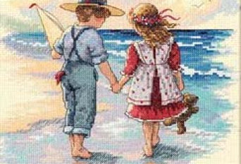 Holding Hands | Counted Cross Stitch | DIMENSIONS