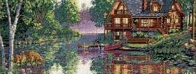 Cabin Fever | Counted Cross Stitch | DIMENSIONS