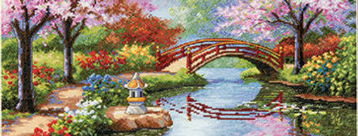 Japanese Garden | Counted Cross Stitch | DIMENSIONS