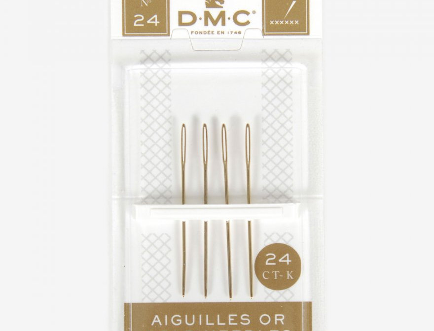 GOLD TAPESTRY NEEDLES SIZE No.24